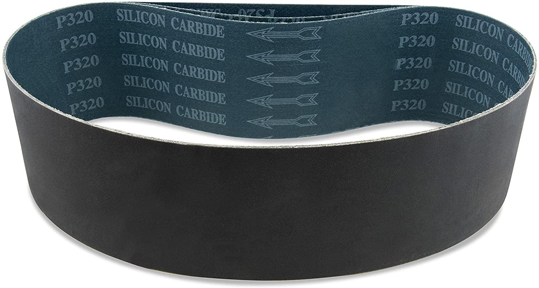 Red Label Abrasives 4 X 27 Inch 1000 Grit Silicon Carbide Sanding Belts, 3 Pack