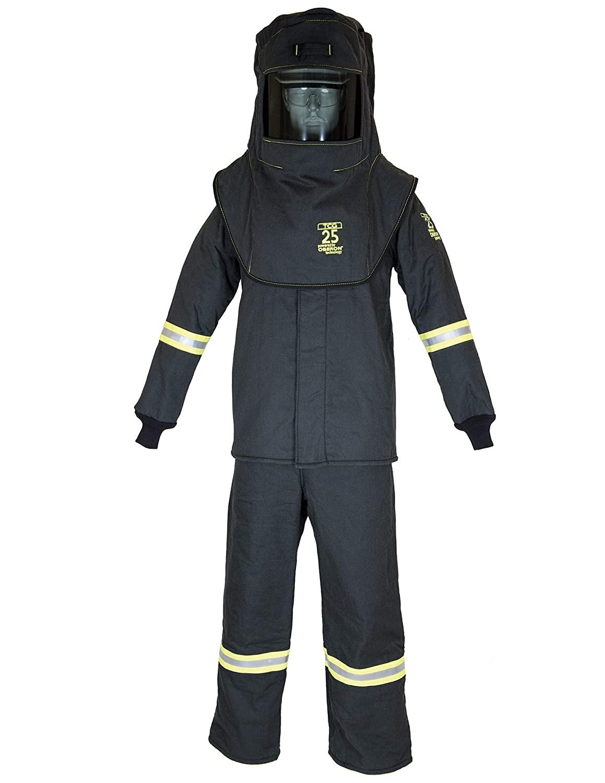 TCG25 Series Arc Flash Hood, Coat, & Bib Suit Set