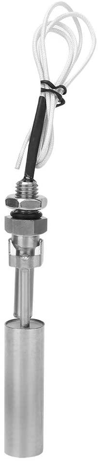 SANON Liquid Water Level Float Sensor Switch 304 Stainless Steel 10mm Male Thread DC0-110V