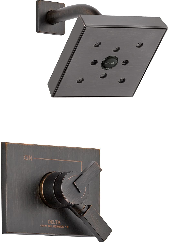 Delta Vero Venetian Bronze Temp/Volume Control Shower Faucet with Valve D756V