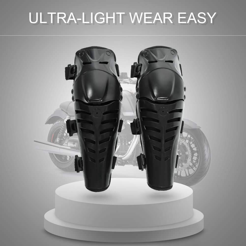 Motorcycle Knee Pads, Motorcycle Off-Road Motorcycle Suits ATV Racing Motorcycles Breathable Protective Armor Knee Support Armor