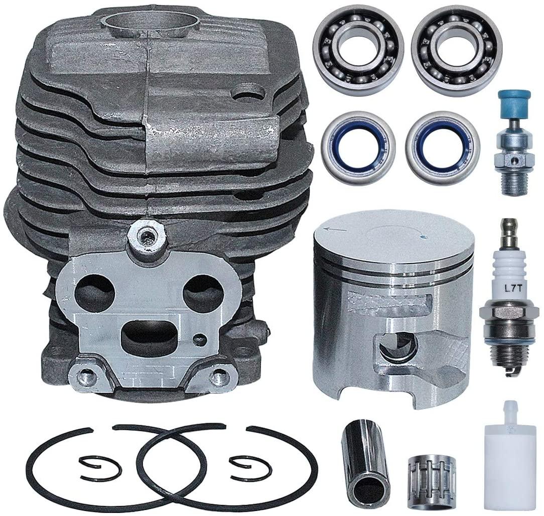 AUMEL 51mm Cylinder Piston Kit For K750 K760 Husqvarna Partner K750 K760 Cutoff Concrete Saw Replace 506 38 61-71.
