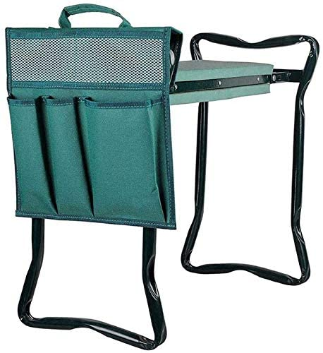 Garden Kneeler and Seat with Tool Bag Pouch