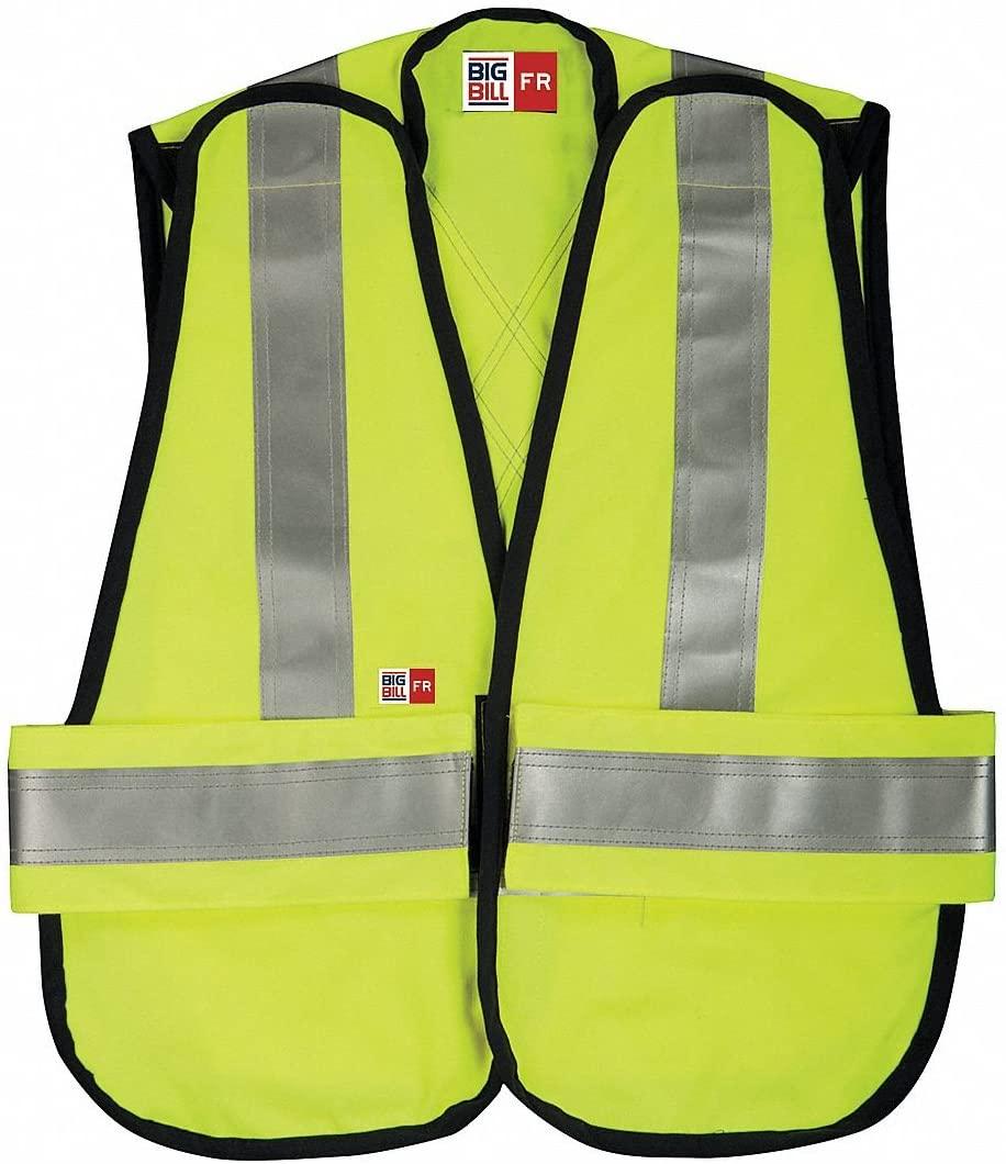 Flame-Resistant Vest, Yellow, OSFA