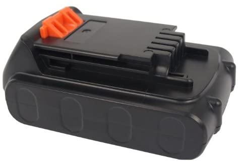 Replacement Battery for Black & Decker BDCDMT120, CHH2220, LCS120, LDX120C, LDX120SB, LGC120, LHT2220, LLP120, LPHT120, LST120, LST220, LSW20, SSL20SB, SSL20SB-2 LB20, LBX20, LBXR20