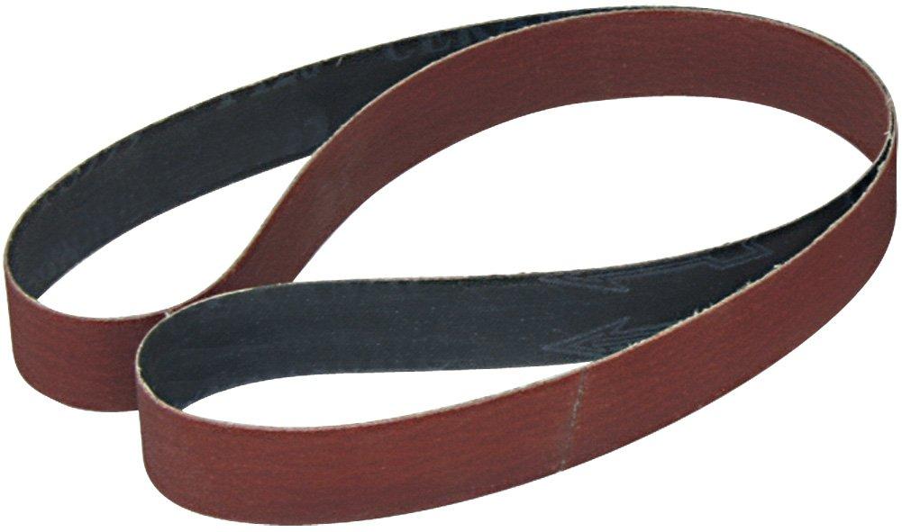 1x30 Aluminum Oxide 220 Grit Sander Belt, x-Weight<br>A&H Abrasives 107948, 10-Pack