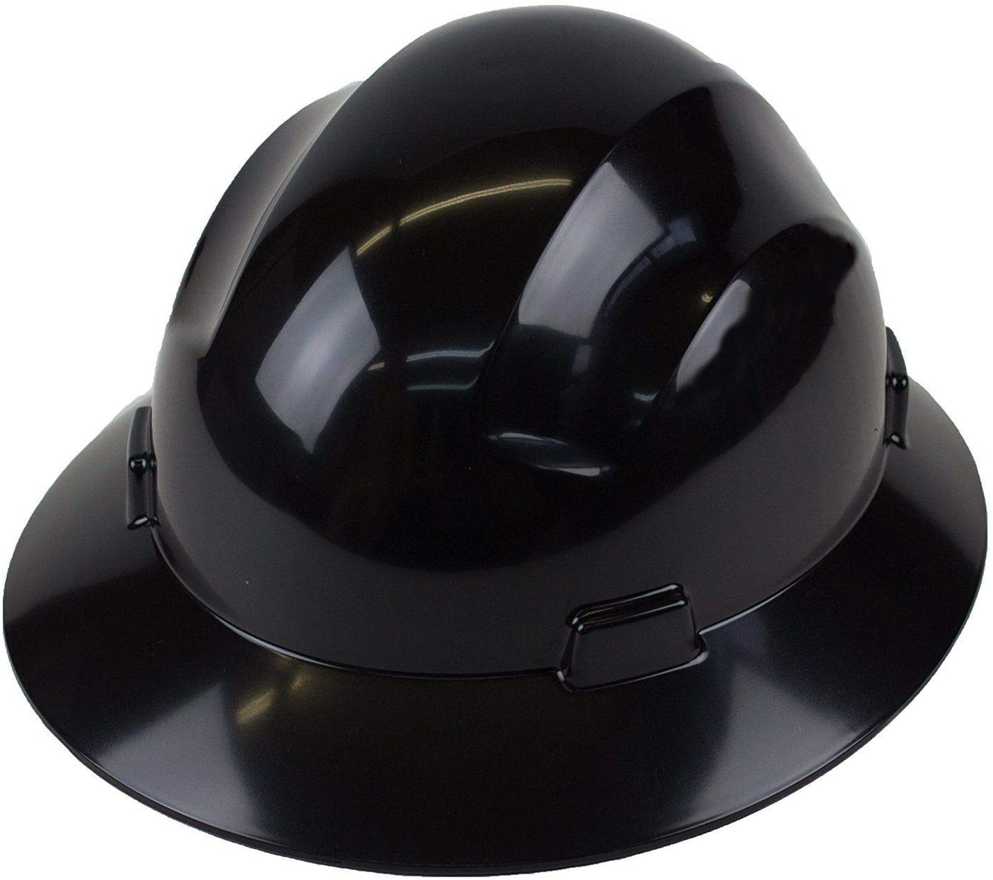 RK-HP24-Brim, Hard Hat Cap Style with 6 Point Ratchet Suspension (3 EA, Black)