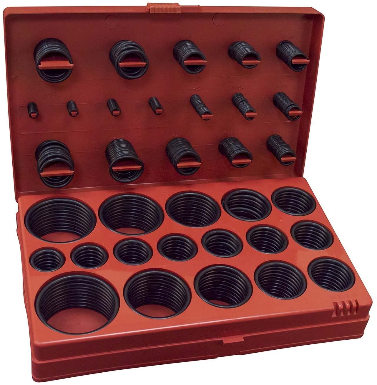 Hardware Machinery 68168 Universal O-Ring Assortment Set (407-Piece-Sae)