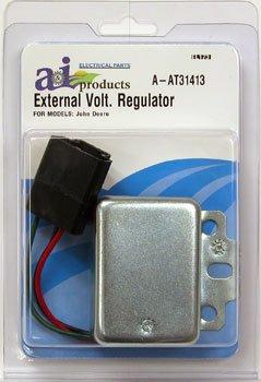 John Deere Tractor External Voltage Regulator Part No: A-AT31413, 1400-0551