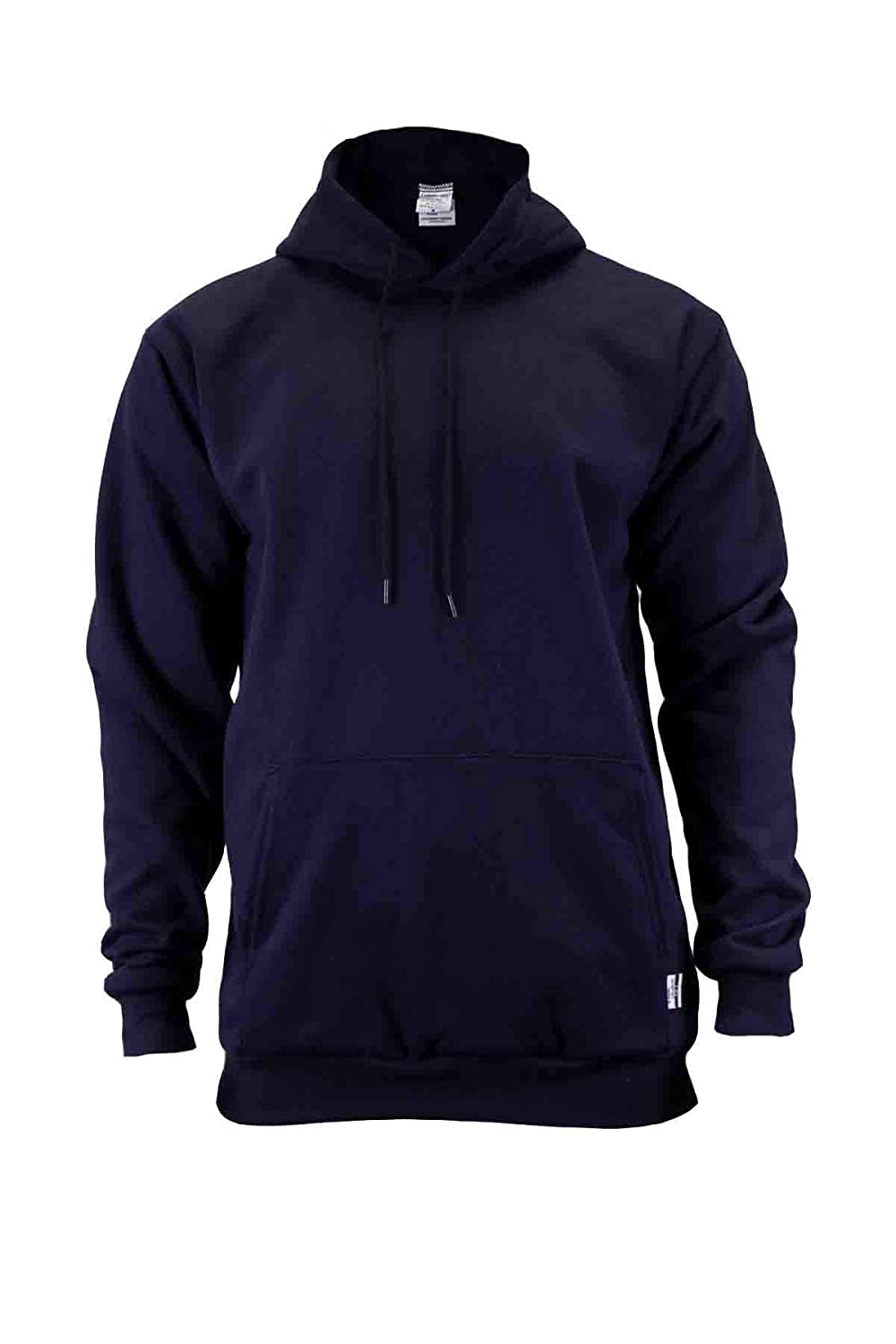 Union Line FR 10250-01-XXL 11 oz. Fleece Hooded FR Sweatshirt, 2X-Large, Navy, Made in The USA