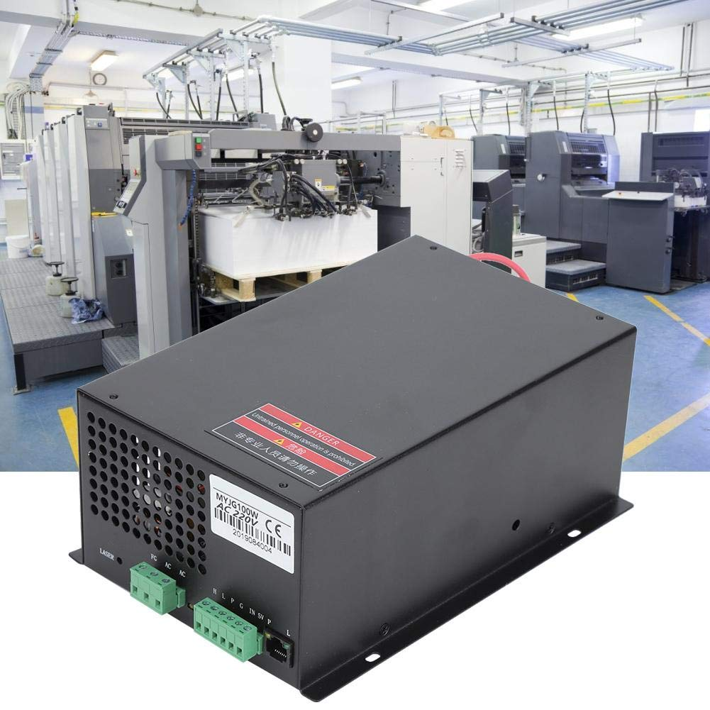 CNC Engraving Machine Power Supply, 100W AC220V/AC110V for Carving Drilling Engraver, Milling Slide Printer Table Accessory for DIY Marking Printing