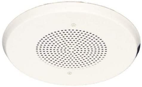 WHEELOCK E90-W Speaker 1/8-8W 24VDC Round, White