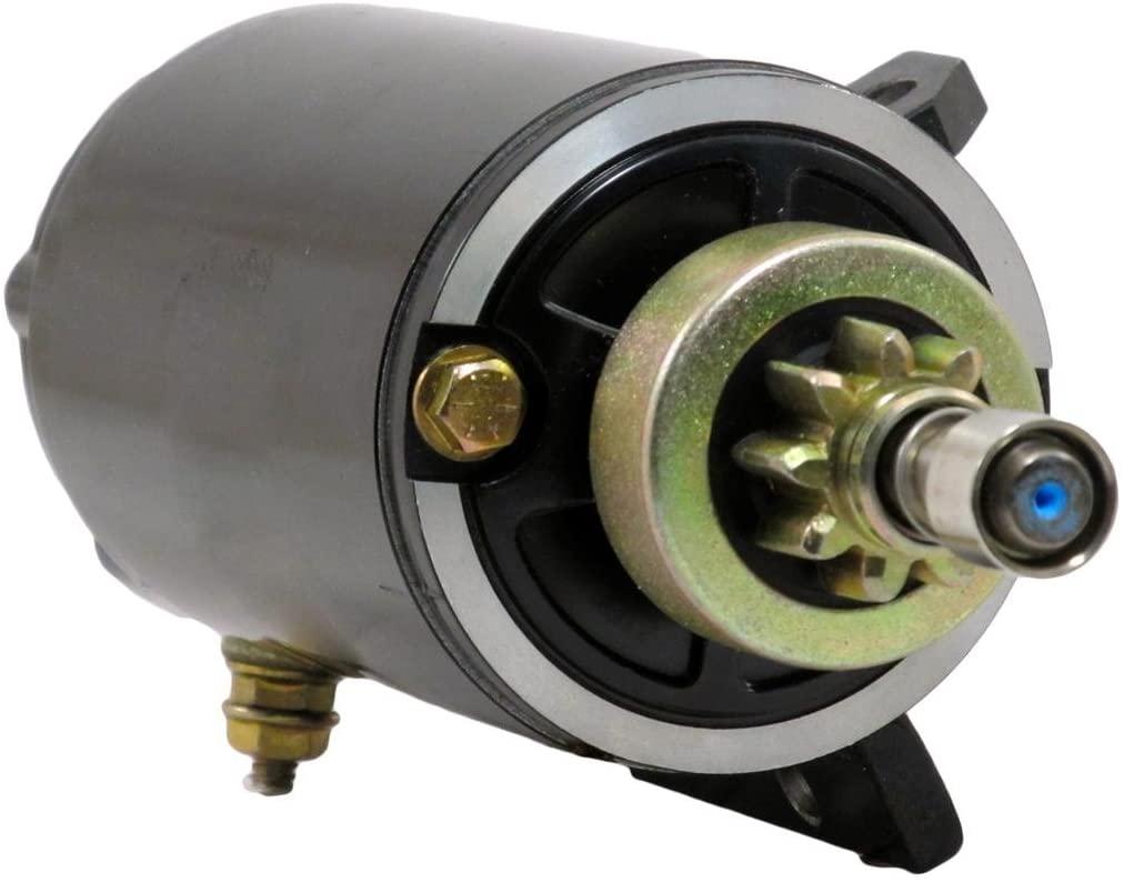 Rareelectrical STARTER MOTOR COMPATIBLE WITH 08 09 EVINRUDE OUTBOARD E55M E65W E75DS 10599640 586768 MOT2013 10599640