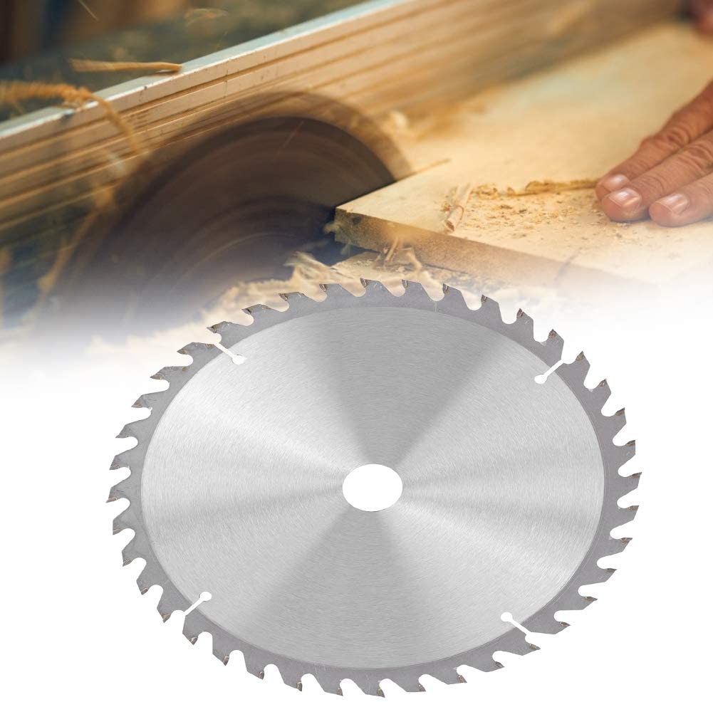 Durable Wood Saw Cutting Blade, Strong Saw Cutting Blade, for Cutting Softwood Wood Cutting(40T)