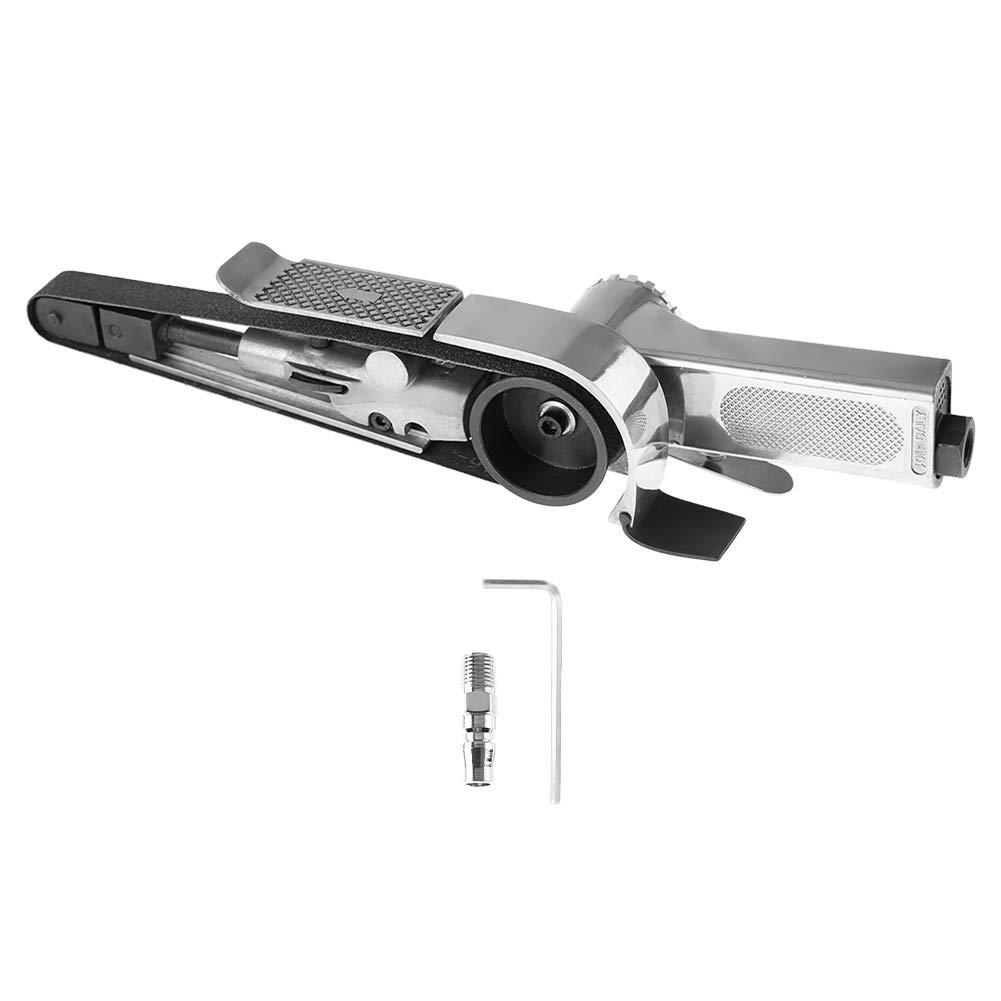 Belt Sander - VIFER Industrial Air Belt Sander Machine Pneumatic Polishing Tool 16000rpm 10330mm/20520mm, 1PC(10330mm)