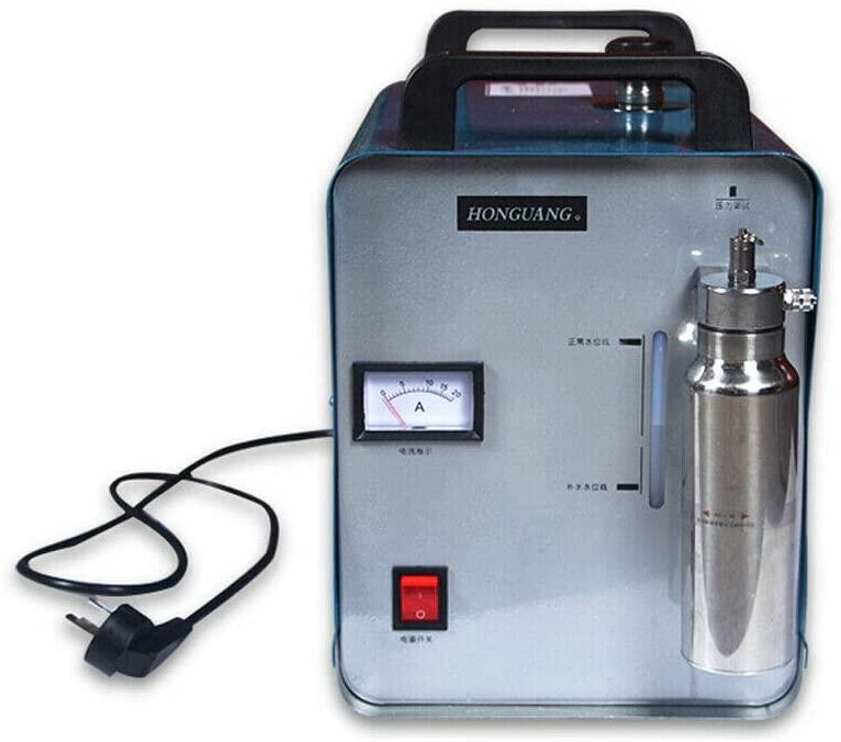 75L Oxygen Hydrogen HHO Gas Flame Generator Water Welder Acrylic Polishing Machine Torch Polisher