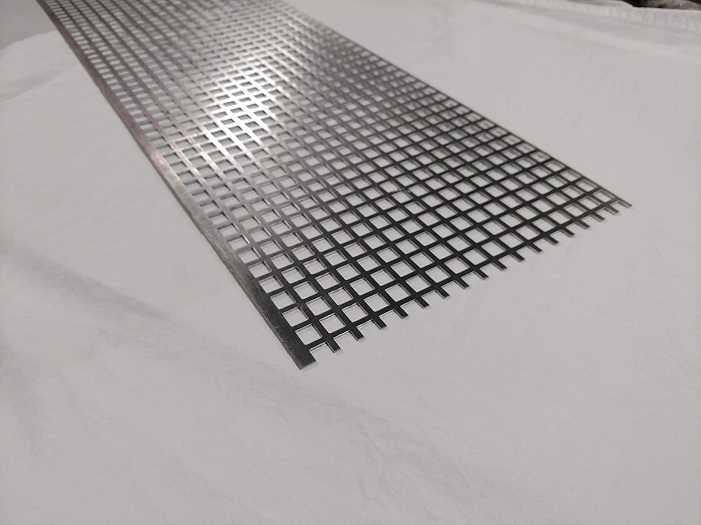 Perforated Aluminum Sheet, Type 3003-H14, 12