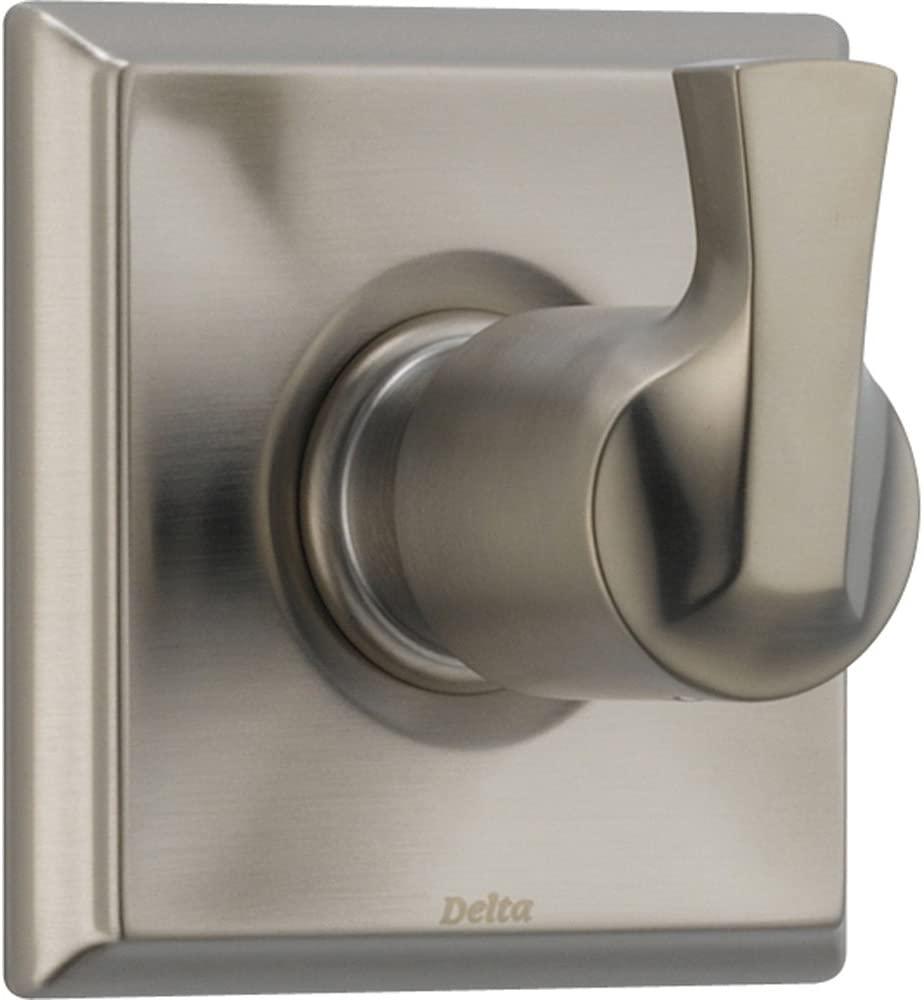 Delta 3-Setting Stainless Steel Finish 1-Handle Shower Diverter with Valve D182V