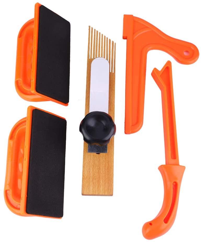 Woodworking Push Handle Set,5pcs Push Block Stick Set Woodworking Router Table Tools