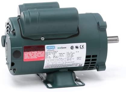 Leeson Electric E101651.00 - General Purpose Motor - 1 ph, 1/2 hp, 1800 rpm, 115/230 V, S56C Frame, Drip Proof Enclosure, 60 Hz, Rigid base Mount
