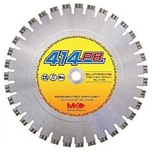 MK Diamond 159814 Dry Cutting Segmented Rim Blades MK-414PB Blade Size: 12