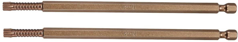 VEGA T15 TORX Impact Driver Bits. Impactech Professional Impact Grade T-15 TORX 6