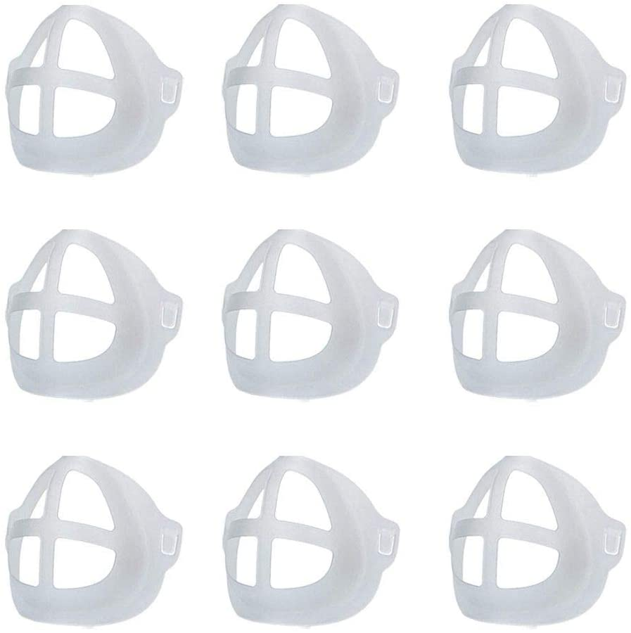 2/3/4/6/8/9 3DMasks Adult Unisex Face Bracket Reusable Create More Space Designed Lipstick Protector Inner Support Stand