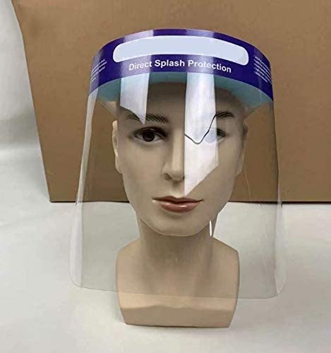 Lab Supplies Clear Protective Disposable Face Shield