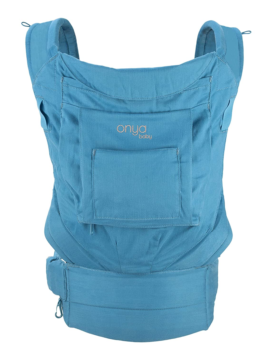 Onya Baby Cruiser Ergonomic Front and Back Infant to Toddler Carrier - Lapis Blue
