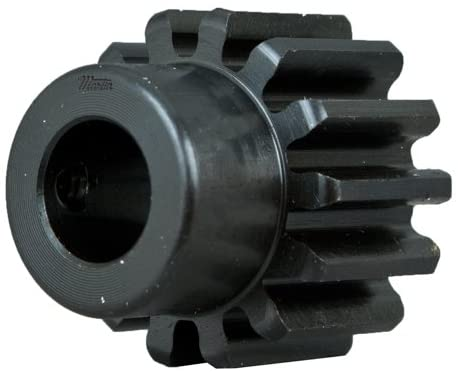 Martin Sprocket & Gear TS1212BS 1/2 - External Tooth Spur Gear - 12 DP, 20 ° Pressure Angle, 1 in Face, 12 Teeth, 1.167 in Outside Diameter, Finished Bore, 1/2 in Bore, Hub with Se