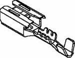 Automotive Connectors FMALE 480 Series TIN CBL RNG 2.51-1.84MM (100 Pieces)