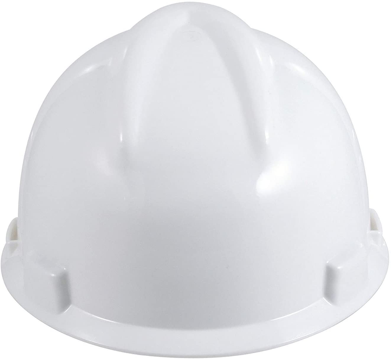 V-Gard Fas-Trac Slotted Protective Cap (White)