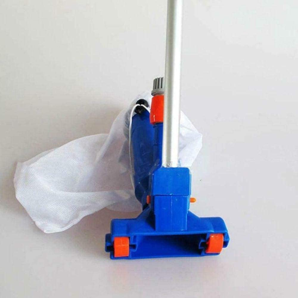 ZoeDul Mini Telescopic Rod Suction Head Swimming Pool Cleaning Vacuum Cleaner Supplies