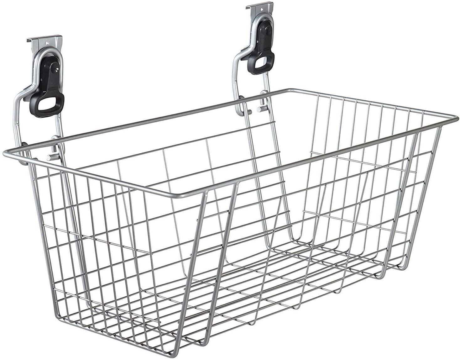 FastTrack Garage Storage Wire Mesh Basket