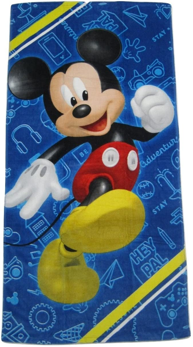 Mickey Mouse Clubhouse Road Racers Beach Towel - Hey Pal
