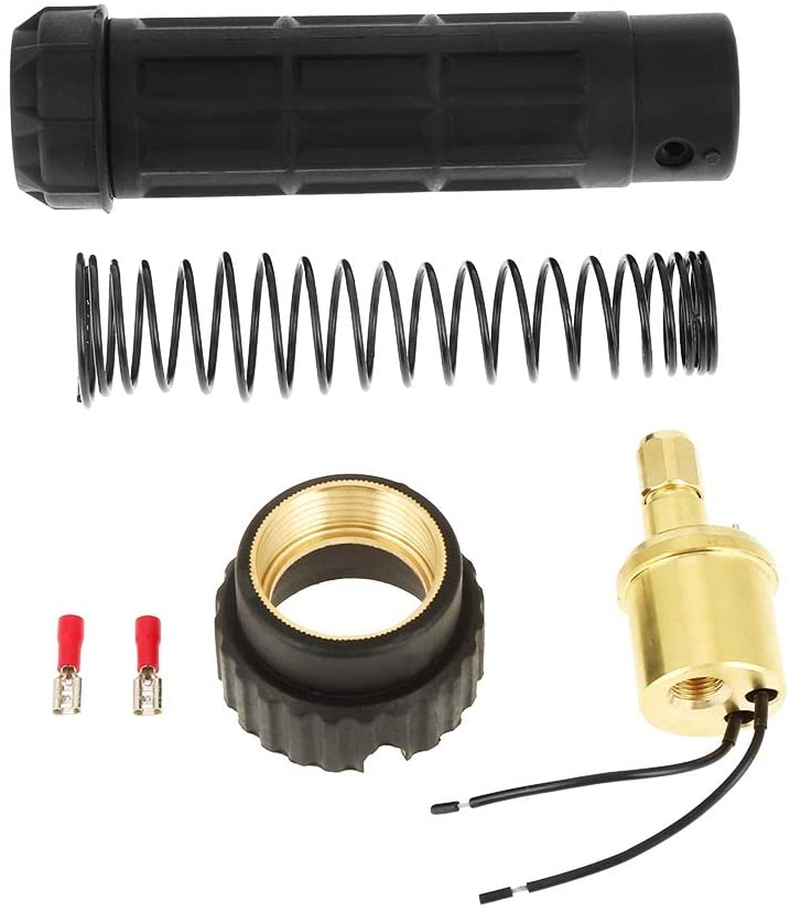 Welding Torch Adaptor - Fitting Connector Brass CO2 Mig Welding Torch Adaptor Conversion Kit Set