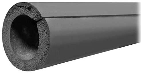 1-1/8 OD/IPS Double Stick Rubber Pipe Insulation, 3/4 Wall Thickness