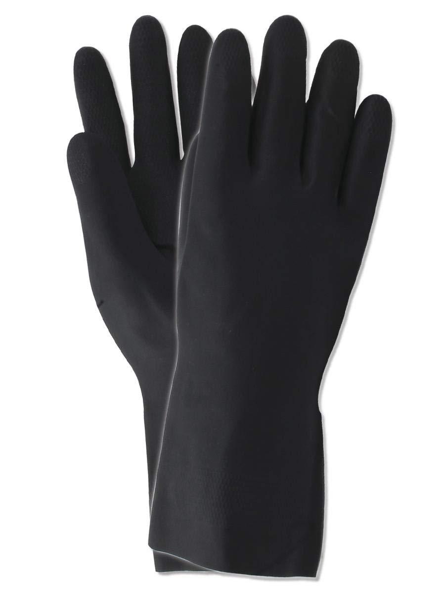 Magid Glove & Safety 712-XL Magid MultiMaster 712 30 Mil Flock-Lined Neoprene Gloves, Black, XL (Pack of 12)