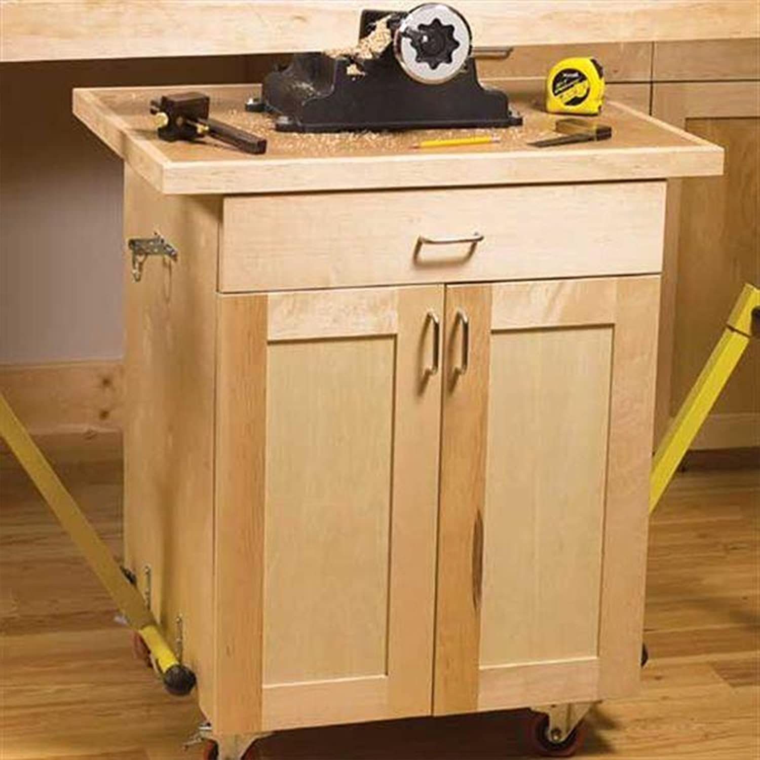 Woodworking Project Paper Plan to Build 3 Mobile Carts
