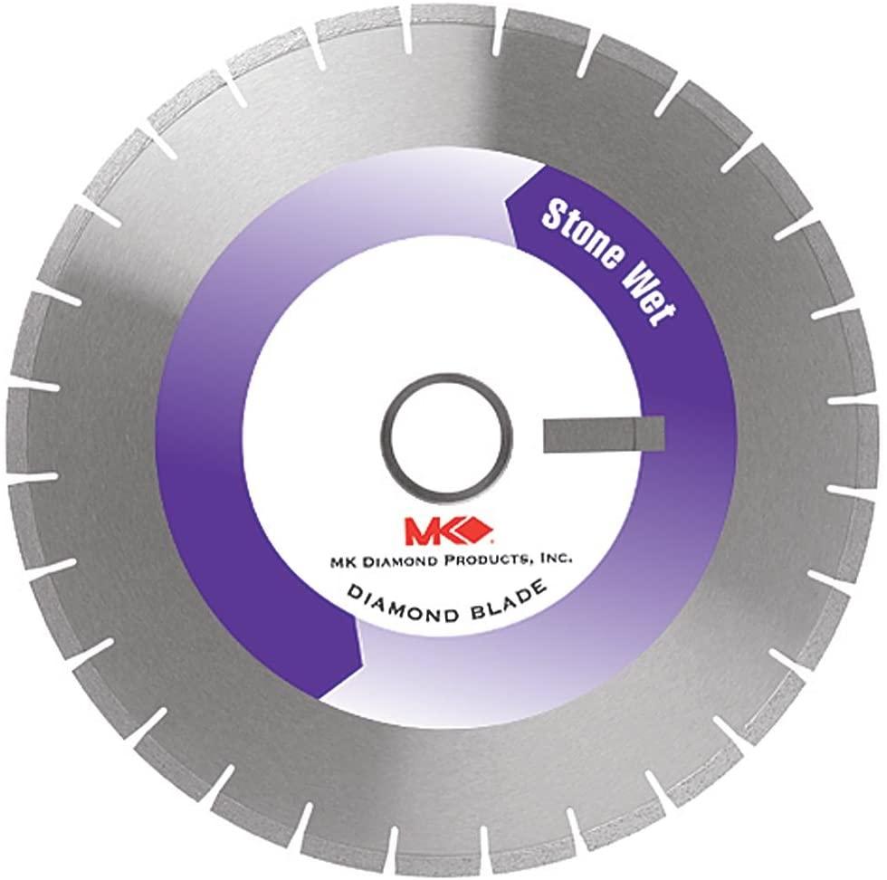 MK Diamond 150392 MK-62G Premium Grade Segmented Rim Blade for Granite, 7 x.080 x7/8 to 5/8