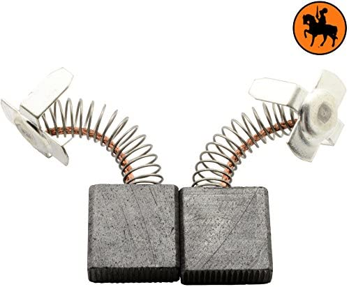Buildalot Specialty Carbon Brushes 0796_Hitachi_H 60MR for Hitachi H 60MR Powertools - With Spring, Cable and Connector - Replaces 974611Z, 999044, 999074 & 999081Z
