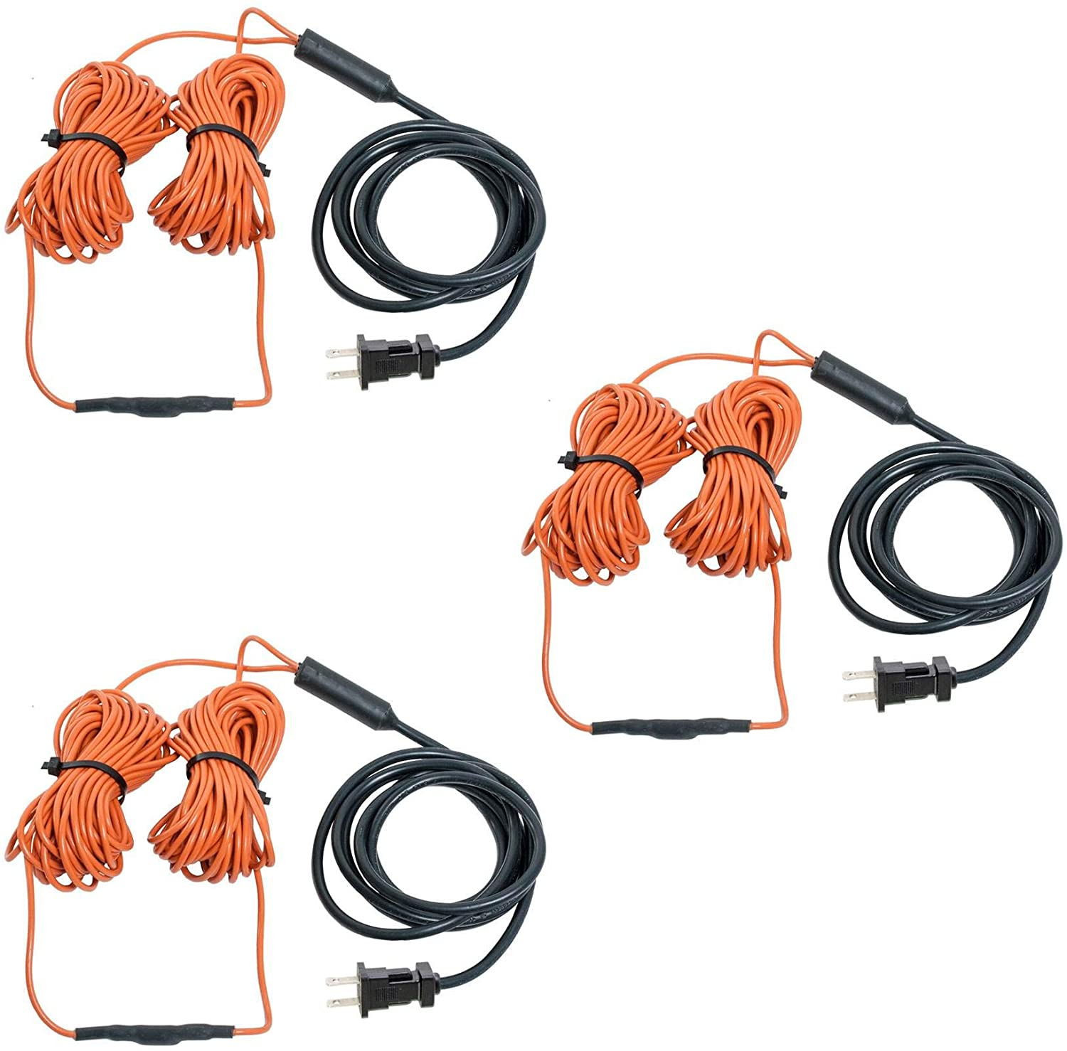 48' Heating Cable - Built-in Thermostat, 3 Pack