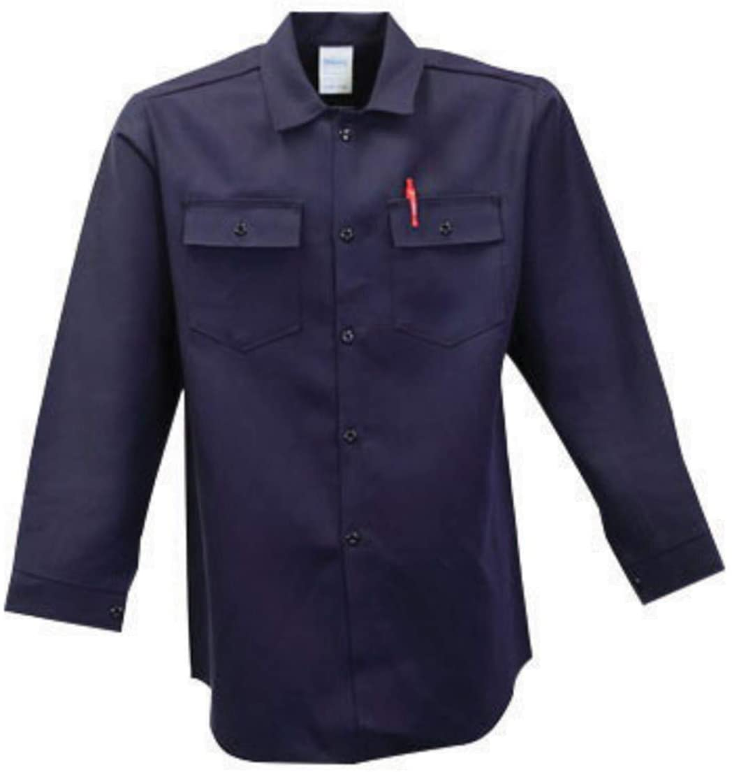 Stanco Products X-Large Royal Blue Nomex Nomex IIIA Arc Rated Flame Resistant Shirt With Button Closure, Package Size: 1 Each