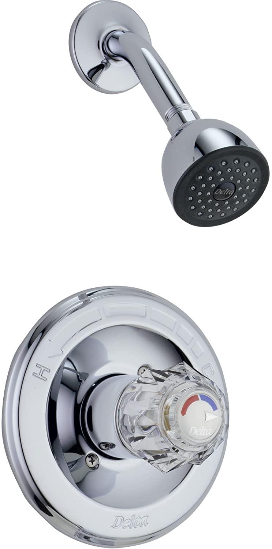 Delta Classic Chrome Single Knob Pressure Balanced Shower Control w/Valve D561V