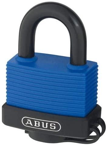 Abus 70IB/50 B MK Blue, 06148 70 Series Padlock Master Keyed Blue (Pack of 10 pcs)