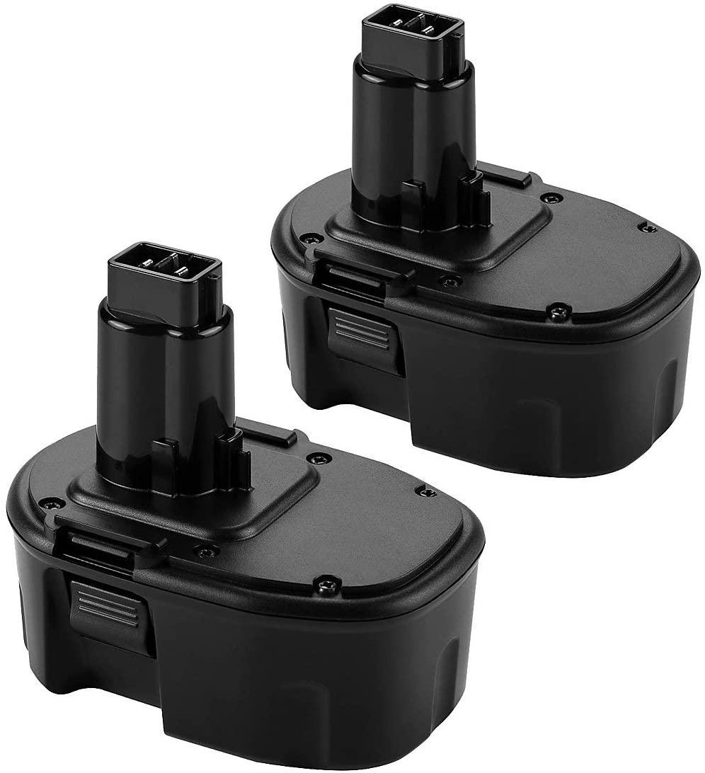 DC9091 Battery Powtree 14.4V NI-MH Replacement Battery Compatible with Dewalt XRP DW9091 DW9094 DE9038 DE9091 DE9092 DE9094 DE9502 Cordless Power Tools (2pack 3500mah)