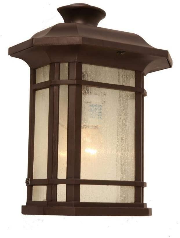 Chloe Lighting 1-Light Oil Rubbed Bronze Outdoor Wall Lantern