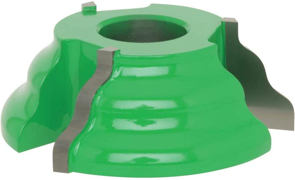 Grizzly Industrial C2127 - Shaper Cutter - Reversible Detail Wave, 3/4