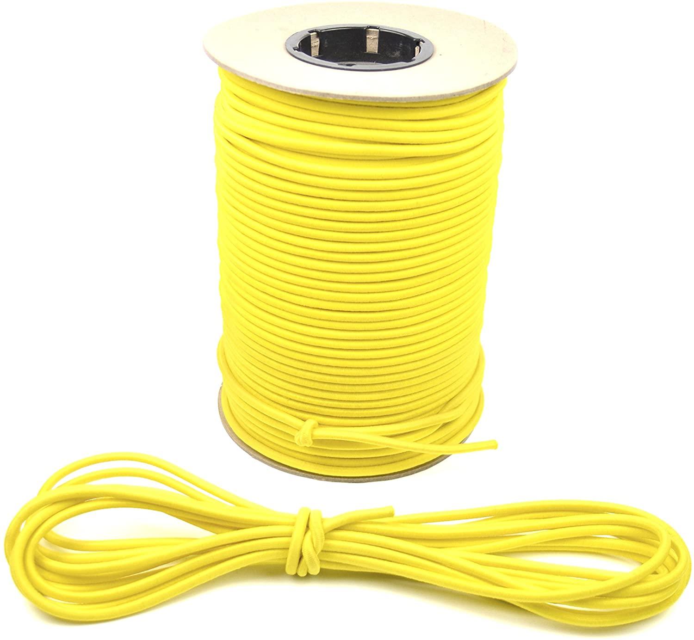 Marine Masters 500ft 1/4 Inch Yellow Bungee Shock Cord (500 Feet)