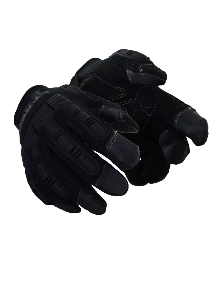 Magid Safety TRX606XL T-REX Light Duty Mechanics Impact Glove, X-Large, Black (One Pair)